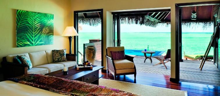 Taj Exotical maldives lagoon villa with Pool
