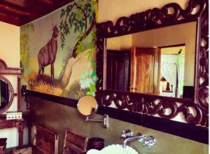 Bathroom Bamboo Forest