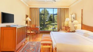 Deluxe Garden View Rooms, Wildflower Hall, Shimla